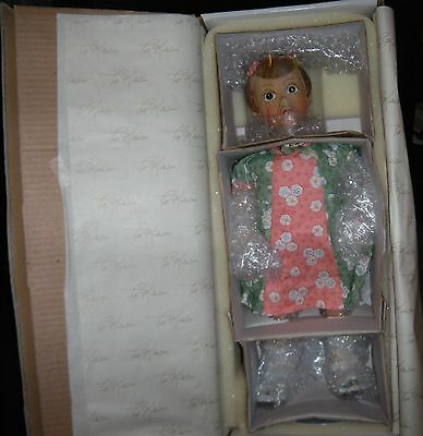 World Gallery Barbara Sue Resin Doll By Pat Kolesar Signed No 0342/2000 NIB COA
