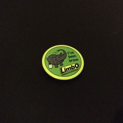 Limbo - I've Been Brave Badge