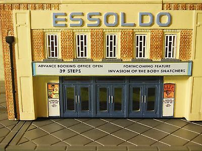 Hornby Skaledale R8971 Essoldo Cinema Model Building OO Gauge Boxed