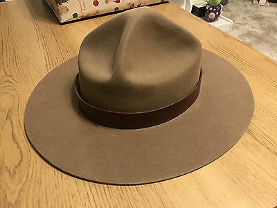 Vintage Royal Canadian Mounted Police Hat - R.C.M.P FEB 68 - Unissued Stetson