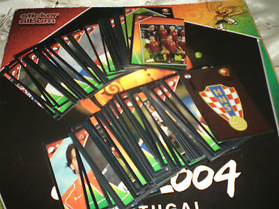 Panini Euro 2004 stickers images bilder choose pick 10 from list