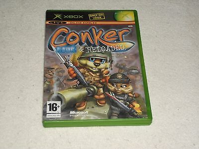 Xbox Conker Live & Reloaded Box Only No Game Or Manual