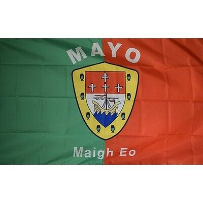 Mayo County 3x5' Banner Irish Flag 90cm x 150cm