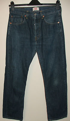 """W32"""" / L30"""" -  LEVI'S 501 - Men's Straight Leg Jeans - Flawless Condition"""