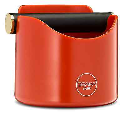 Osaka, Shock-Absorbent Espresso Knock Box - Durable 4.7 Inch Barista Style Knock
