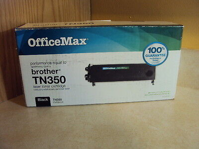 OfficeMax Replacement Laser Toner Cartridge Black TN350 Brother