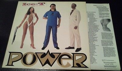 ICE T - POWER LP Sire ‎– 1-25765 Vinyl 1988 Promotional US pressing