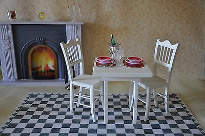 Dining Room Ribs For Poppy Parker Furniture Barbie Fashion Royalty Bjd Doll 1/6