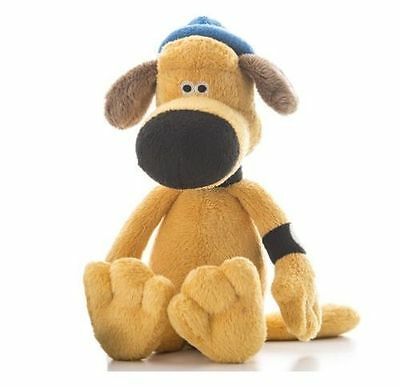 """Official SHAUN THE SHEEP Bitzer 20cm 8"""" SOFT TOY LICENSED Plush New Aardman Gift"""
