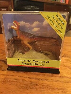 American Museum Of Natural History Dinosaur Figurine 3 x 4 Inches