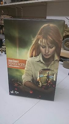 Hot toys PEPPER POTTS BOX 1/6 scale,not,Did,3R,Soldier ,DamToys,phicen)