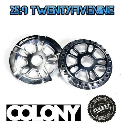 Colony Menace 25 Tooth BMX Sprocket With Built in Bash Guard - POLISHED