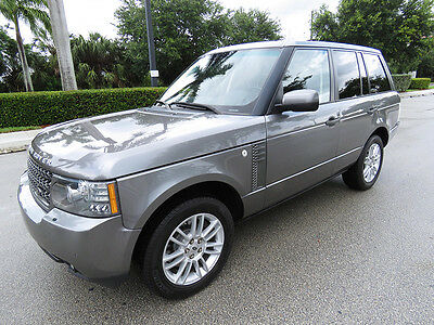 2011 Land Rover Range Rover HSE LOW MILES 2011 Range Rover HSE - ALL WHEEL DRIV Clean Carfax 1 Owner Florida SUV
