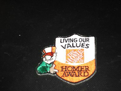 The Home Depot Homer Award 2.5 Inch  Patch