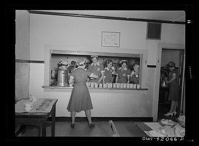 Southington Connecticut. Red Cross mess hall-1942
