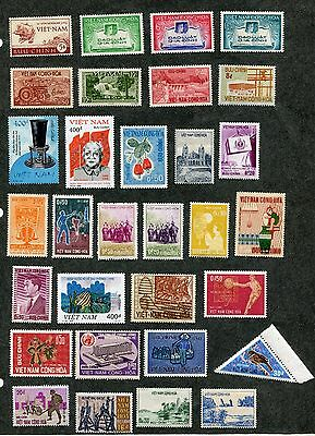 Stamp Lot Of Viet Nam, Mnh And Mh