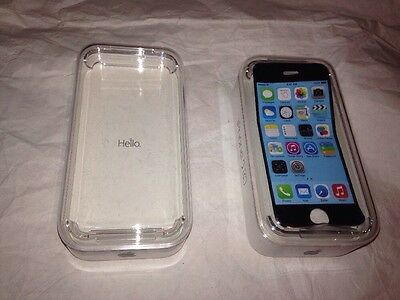 IPHONE 5C Original EMPTY BOXES WITH TRAY Apple Decals no PHONES