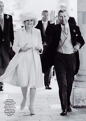 Prince Charles & Camilla Wedding 1 Page Clipping