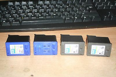 Two  HP21XL and two HP22XL used empty cartridges for refilling