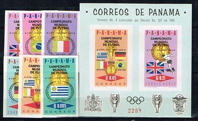 Panama.1966 World Cup.Soccer.Football.Fussball.Imperforated.MNH**