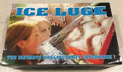 Ice Luge Mould For Parties Adult Drinking Game Race New
