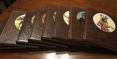 Time Life Old West Series 8 Volumes Circa 1974