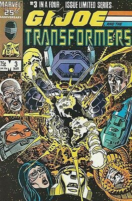 GI Joe And The Transformers #3 - 1987