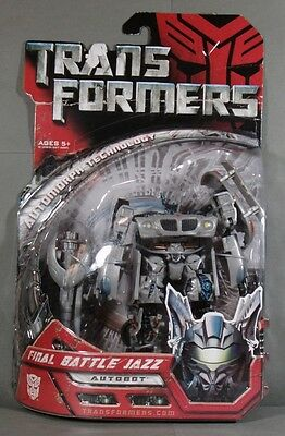 Transformers The Movie 2007 Deluxe Class Final Battle Jazz Autobot MISB