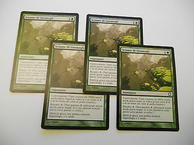 4x MTG Sciame di Germogli-Sprout Swarm Magic EDH FS Future Sight ITA-ING x4