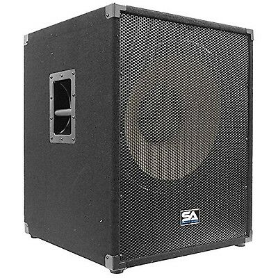 Seismic Audio-18-Inch Subwoofer PA DJ Pro Audio Band Speaker New Sub-Chest Th...
