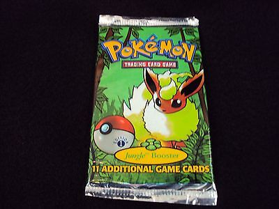 Pokemon Trading Card Game - Jungle Booster ( 11 Cards) Series 1