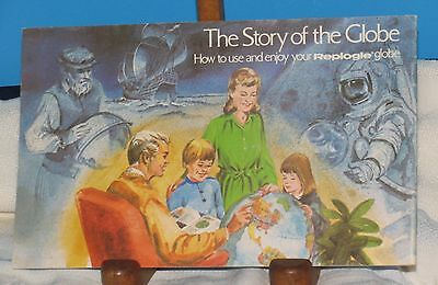 The Story Of The Globe How To Use Replogle Globe 1974 Booklet