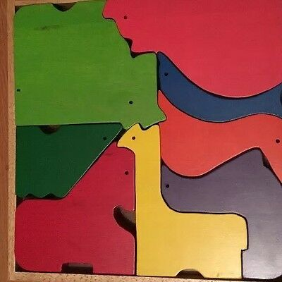 Naef Wooden Animal Puzzle