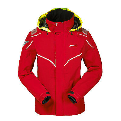 Musto BR1 Inshore Jacket - Red/White
