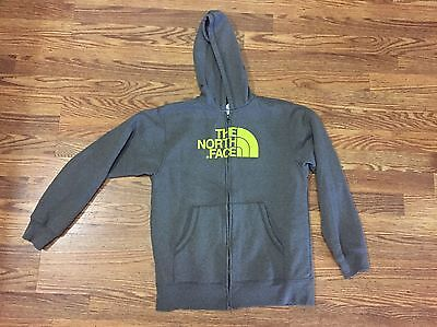 North Face Fleece Lined Zip Jacket Youth Large 14-16