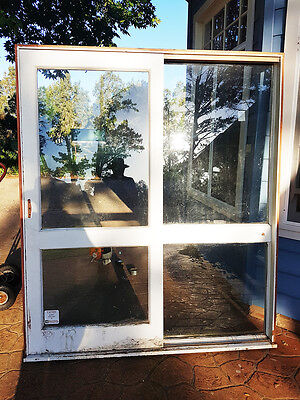Timber Sliding Doors with Glass 1800w x 2100h