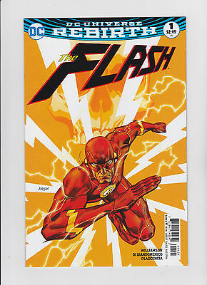 The Flash #1 Rebirth Variant Cover