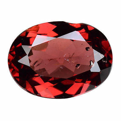 2.155Cts Attractive Luster Pink Red Natural Rubilite Oval Loose Gemstones