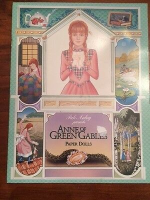 Anne of Green Gables Paper Doll Book Peck Aubry 1999