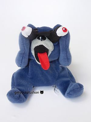 Meanies Series 2 1998 Peeping Tom Cat Plush * Rare Version With Pupils