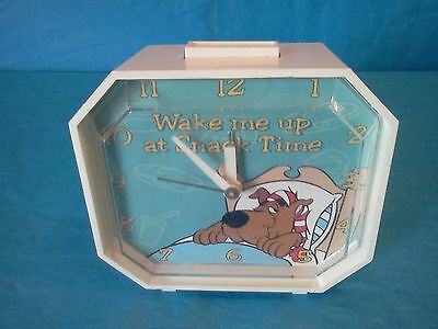 Vintage Scooby-Doo Alarm Clock Electric ~Hanna Barbera