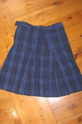 St Ives High School Tartan Skirt Size 12