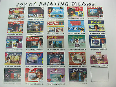 Bob Ross The Joy of Painting Books Huge Selection Please choose your # (NEW)