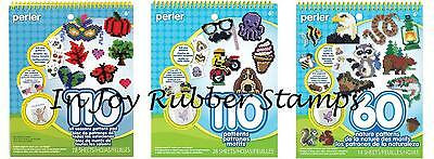 Perler Beads Pattern Pad Idea Book Lot 280 Project Ideas ALL SEASONS NATURE