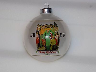 Norman Rockwell Collection Limited Edition Christmas 2000 Ornament