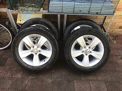 Jeep Patriot /compass 17inch Alloy Wheels/rims With Tyres