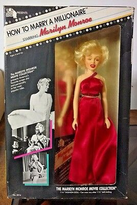 1982 Marilyn Monroe Doll How To Marry A Millionaire NEW IN BOX