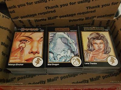 300 DIFFERENT TSR 1992 Collector Trading Cards - Dungeons and Dragons - D&D AD&D