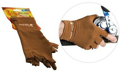 Sun Gloves 50+ UPF Protection (Skin Colour)-SYD Stock