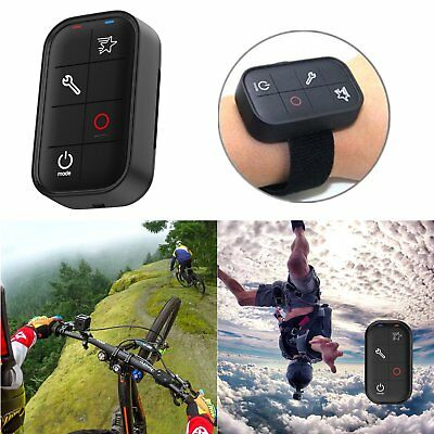 WiFi Remote Control + Charging Cable + Wrist Band For GoPro HERO 5 4 3+ Session